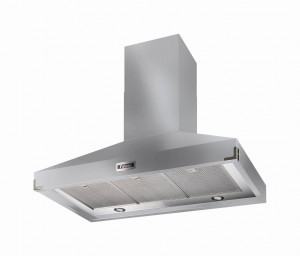 Falcon 1092 Super Extract Cooker Hood Stainless Steel/Chrome