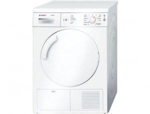 Bosch WTE84106GB Freestanding White Condenser Tumble Dryer