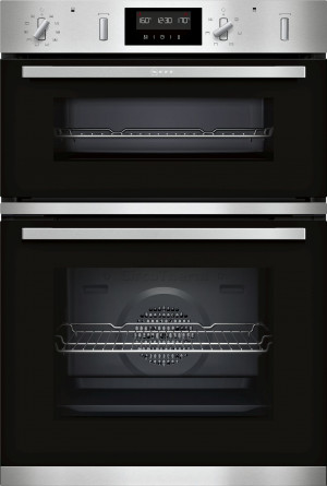 Neff N50 Pyrolytic Double Built In Oven U2GCH7AN0B