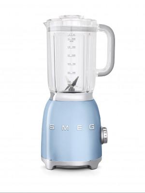 Smeg 50's Retro Style Pastel Blue Blender