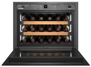 Liebherr WKEgb 582 GrandCru 46 Litre A Rated Black Wine Cooler