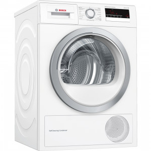 Bosch Serie 6 WTM85230GB Freestanding White Condenser 8kg A++ Rated Tumble Dryer