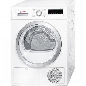 Bosch Serie 4 WTN85200GB Freestanding White Condenser 7kg B Rated Tumble Dryer