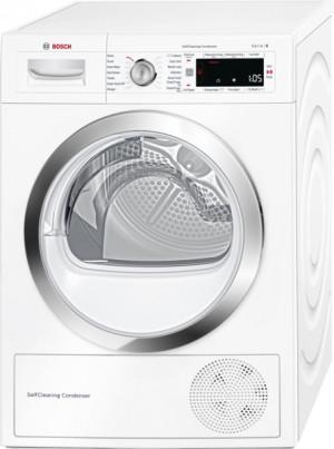 Bosch Serie 8 WTW87560GB Freestanding White Condenser Tumble Dryer