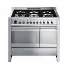 Smeg Opera 100 Dual Fuel Stainless Steel Range Cooker