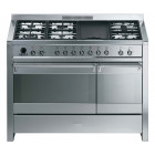 Smeg A3-7 Opera 120 Dual Fuel Stainless Steel Range Cooker